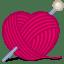 Cat yarn icon