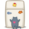 Cat-fridge icon