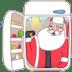Santa-fridge icon
