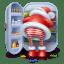 Santa-steal icon