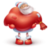 Santa-gift icon