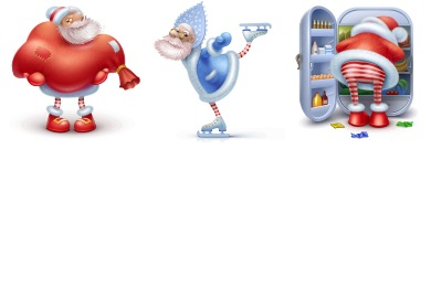 Santas Icons