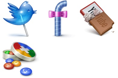 Social Treat Icons