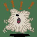 Dog bark icon