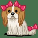 Dog bows icon