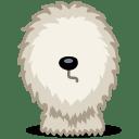 Dog shepherd icon
