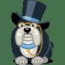 Dog-rich icon
