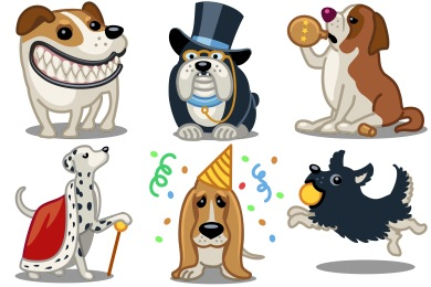 Tailwaggers Icons