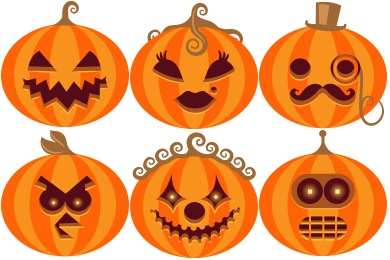 Halloween Wicked Wall Icons