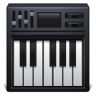 Piano-keyboard icon