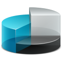 Chart pie chart icon
