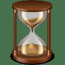 Sand-glass icon