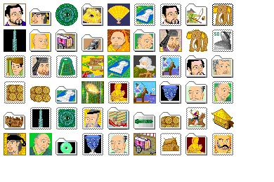 Japanese History Icons