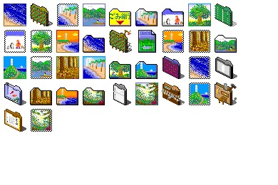 Nature 6 Icons
