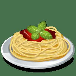 Dish Pasta Spaghetti icon