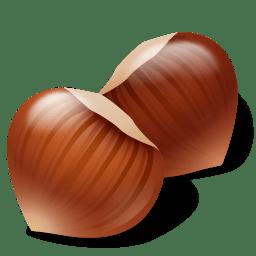 Nut Hazelnut icon