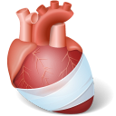 Body Heart Injury icon