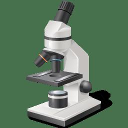 Equipment Microscope icon
