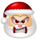 Santa Claus Angry icon