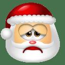 Santa-Claus-Sad icon