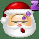 Santa Claus Sleep icon