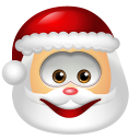 Santa Claus Smile icon
