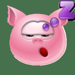 Piggy Sleep icon