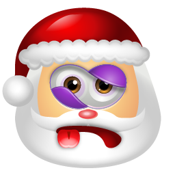 Santa Claus Beaten icon