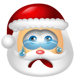 Santa Claus Cry icon
