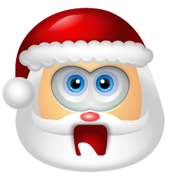 Santa Claus Shock icon