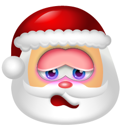 Santa Claus Shy icon