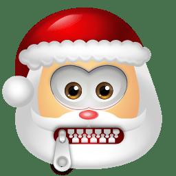 Santa Claus Stop Talking icon