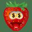 Strawberry-Money icon