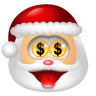 Santa-Claus-Money icon