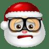 Santa-Claus-Nerd icon