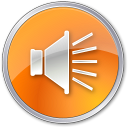 Volume Normal Orange icon
