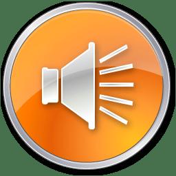 Volume Normal Orange icon