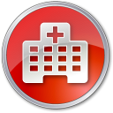 Hospital Red icon