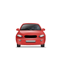 Car-Front-Red icon