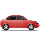 Car-Right-Red icon