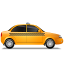 Taxi-Right-Yellow icon