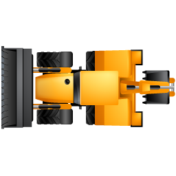 BackhoeLoader Top Yellow icon