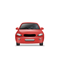 Car Front Red icon