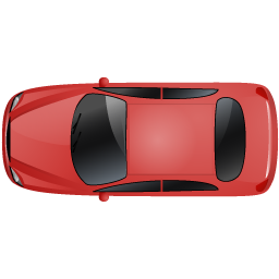 Car Top Red icon