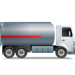 FuelTank Truck Right Grey icon
