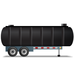 WasteTankerTrailer Right Black icon