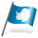 Antarctica Flag 3 icon