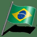 Brazil Flag 3 icon