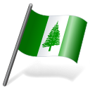 Norfolk Island Flag 3 icon