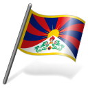 Tibetan People Flag 3 icon